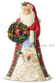 Event Exclusive - Santa With Wreath - Jim Shore 6005247