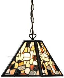 7901 Hanglamp Tiffany 21x21cm Falling Water