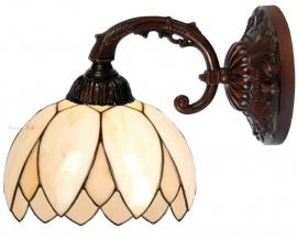 5135 8829 Wandlamp met Tiffany kap Ø26cm  Lelie