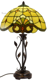 5808 Tafellamp Tiffany H56cm Ø35cm Touluse