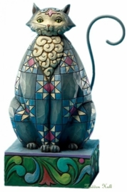 """""""Knightly Cat"""" H16cm JIM SHORE"""