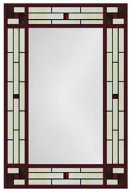 7862 Spiegel Tiffany 80x55cm Art Deco