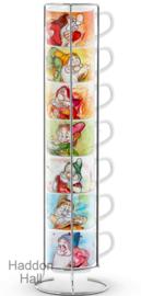 Seven Dwarfs Standaard met  7 Espresso kopjes Disney by Egan