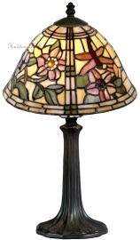 9111 9022 Tafellamp Tiffany H41cm Ø26cm  Garden Dragonfly