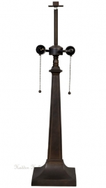 5722 Lampvoet H75cm 19x19cm