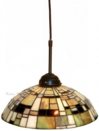 5348 345 Hanglamp Tiffany Ø30cm Art Deco Green