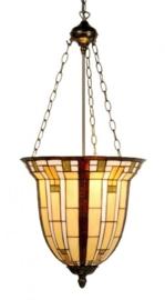 5513 Hanglamp Tiffany Ø40cm  Zak Model groot