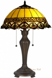 5680 Tafellamp Tiffany H60cm Ø40cm Guirnard