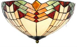 5961 Hanglamp Tiffany Ø40cm 2xE27 Stricta