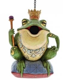 Frog Prince Birdhouse H22cm  Jim Shore Vogelhuis 6001444