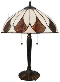 74317 Tafellamp Tiffany H60 Ø40cm Aragon