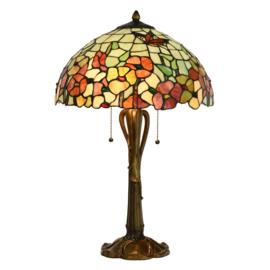 5981 Tafellamp Tiffany H63cm Ø40cm Farfett