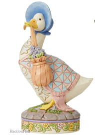 Jemima Puddle-Duck Figurine H15cm Beatrix Potter by Jim Shore 6008748