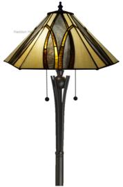7856 Vloerlamp Tiffany H158 Ø50cm Round & Square