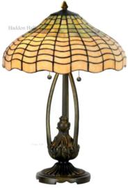 5974 5320 Tafellamp Tiffany H60cm Ø40cm Shell