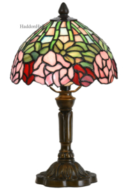 6161 Tafellamp Tiffany H39cm Ø21cm Pastella