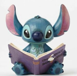 "Stitch - ""Finding a Family"" Jim Shore 4048658 Ugly Duckling Stitch"