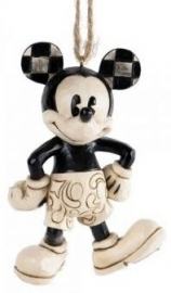 "MICKEY ""Plane Crazy"" H9cm Hanging ornament JIM SHORE A25901."