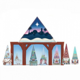Gnomes Nativity Set - Jim Shore 6009346