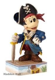 "Mickey ""Set Sail For Adventure"" H14cm Jim Shore 4056760"