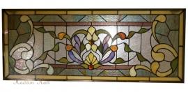 5400 Voorzetraam Tiffany 31x76cm