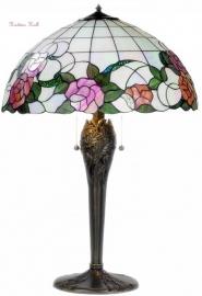 9280 Tafellamp Tiffany H66cm Ø50cm Alba