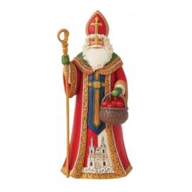 Czech  Santa - Jim Shore 6008914 Tjechische santa