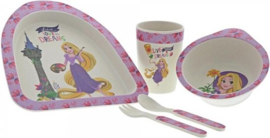 Rapunzel Bamboo Dinner Set A29238