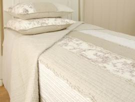 Q022 Clayre & Eef Bedsprei 180 x 260 cm Quilt Patchwork beddesprei