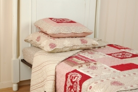 Q062 Clayre & Eef Bedsprei 300 x 260 cm Quilt Patchwork