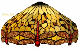 1102 Kap Tiffany  Ø48 cm Beige  Dragonfly