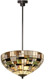 1143 Hanglamp Tiffany Ø50cm Art Deco Green