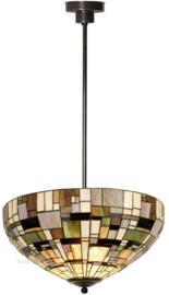 1143 Hanglamp Tiffany Ø50cm Art Deco Green