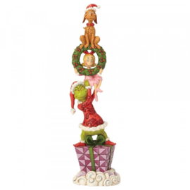 Grinch Stacked Characters H34cm Jim Shore 6002066
