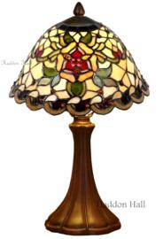 9114 5135 Tafellamp Tiffany H41cm Ø26cm Santana