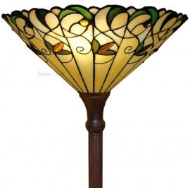 "T095 Vloerlamp Tiffany H180cm met Tiffany kap Ø41cm ""Jamelia"" 5206"