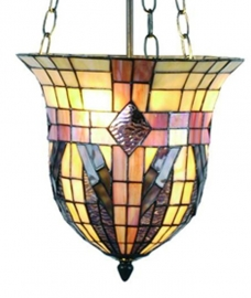 5457 Hanglamp Tiffany Ø30cm Zak model