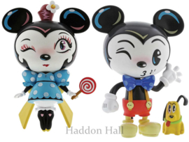 Mickey & Minnie Set van 2 H18cm Vinyl Miss Mindy