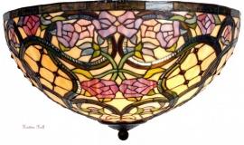 9962 80 Plafonniere Tiffany Ø50cm Grandiflora