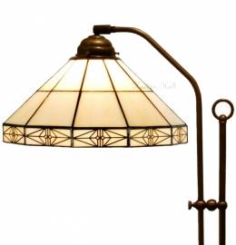 3087 Vloerlamp met Tiffany kap Ø32cm Serenity