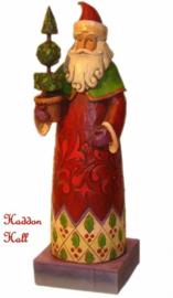 Holiday Trim  H20cm & Pinecone Santa HO Jim Shore