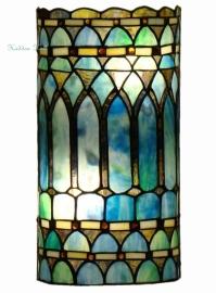 5508 Wandlamp Tiffany H35cm B17cm Cilinder model