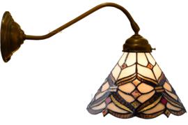 5901 Wandlamp met Tiffany kap Ø25cm Lancaster