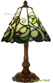 T9520 Tafellampje Tiffany H32cm Ø20cm Jamelia