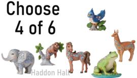 Mini Animals - Kies 4 van 6 - H9cm - Jim Shore
