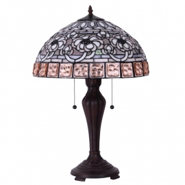 5628 Tafellamp Tiffany H60cm Ø40cm Auckland