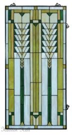 5835 Voorzetraam 50x101cm Frank Lloyd Wright