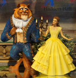 Belle & The Beast H26cm Set van 2 Disney Showcase beelden