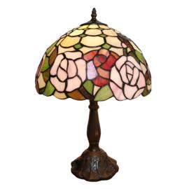 6020 Tafellamp Tiffany H47cm Ø31cm