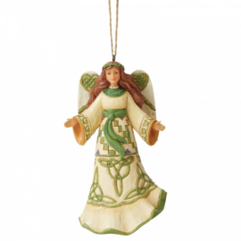 Irish Angel Hanging Ornament H11cm Jim Shore 6006683